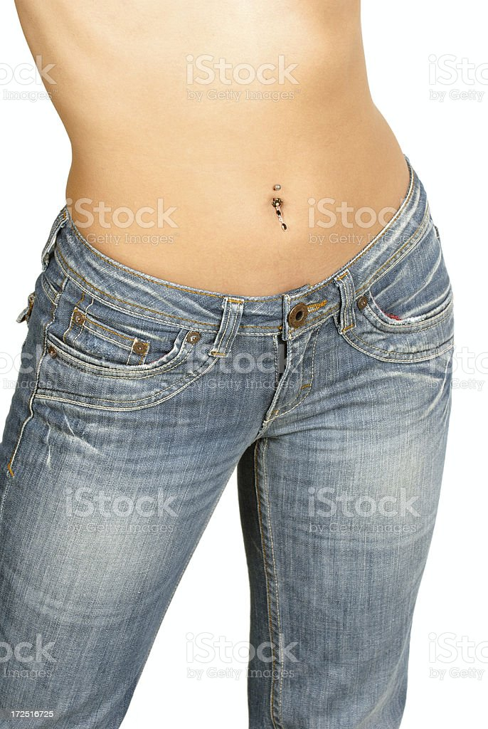 Sexy Stomach! royalty-free stock photo