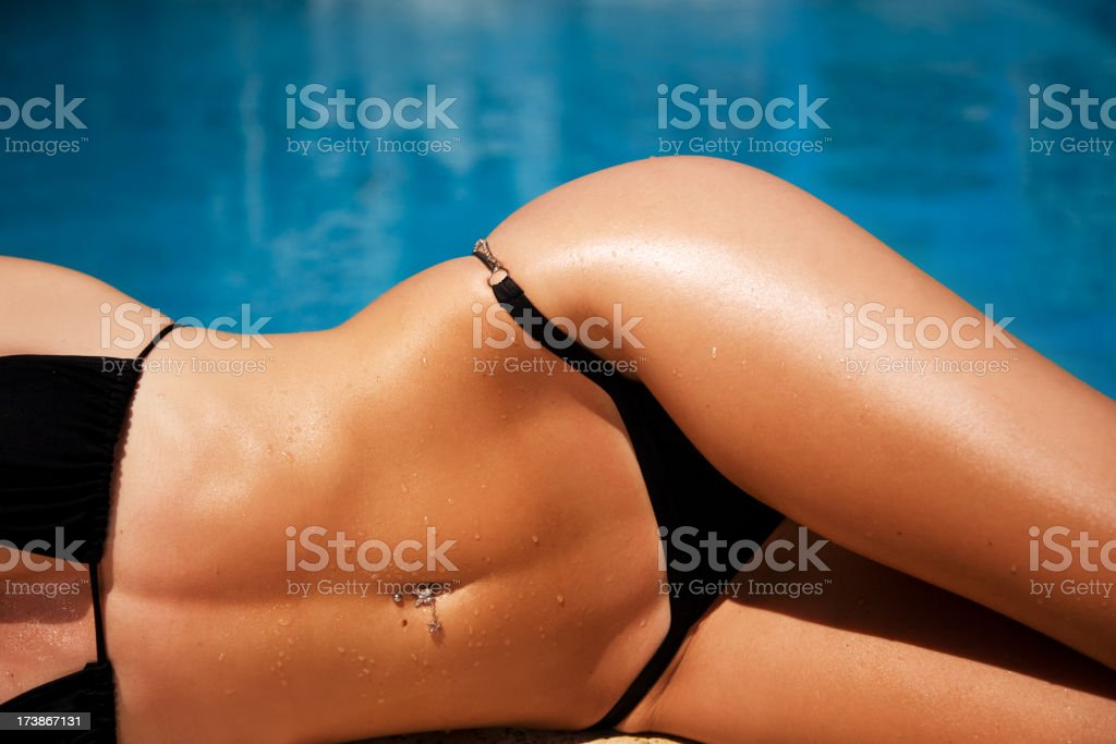 Sexy Summer Blue stock photo