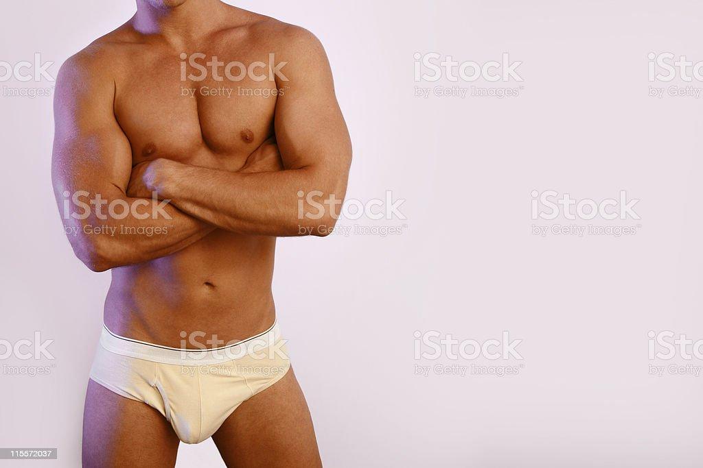 Sexy Tough Guy royalty-free stock photo