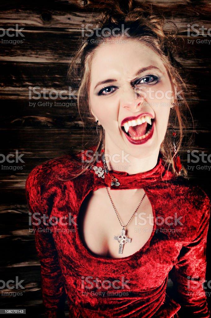 Sexy Vampire royalty-free stock photo