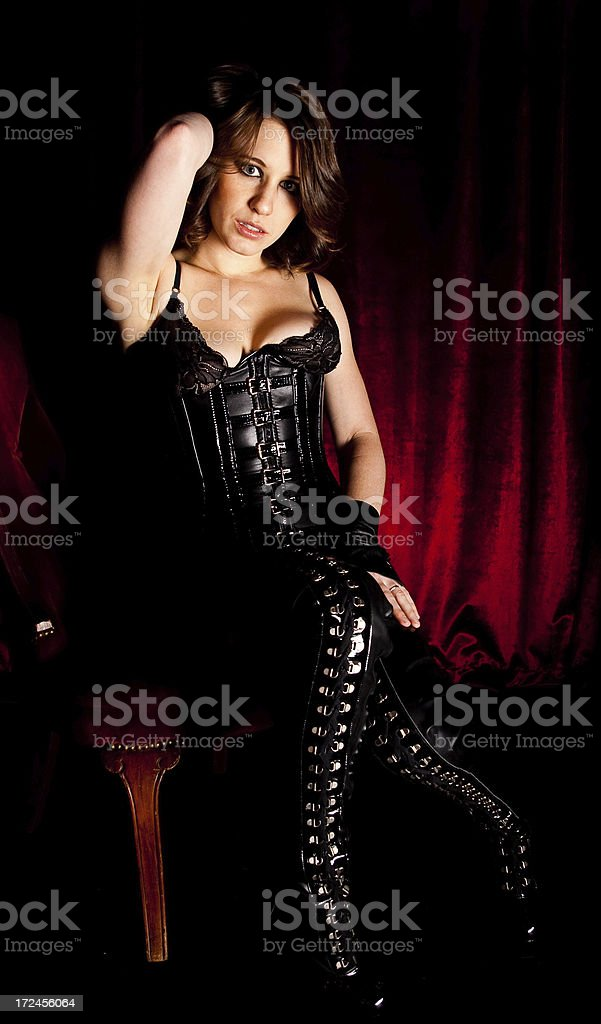 Sexy Vampire Woman royalty-free stock photo