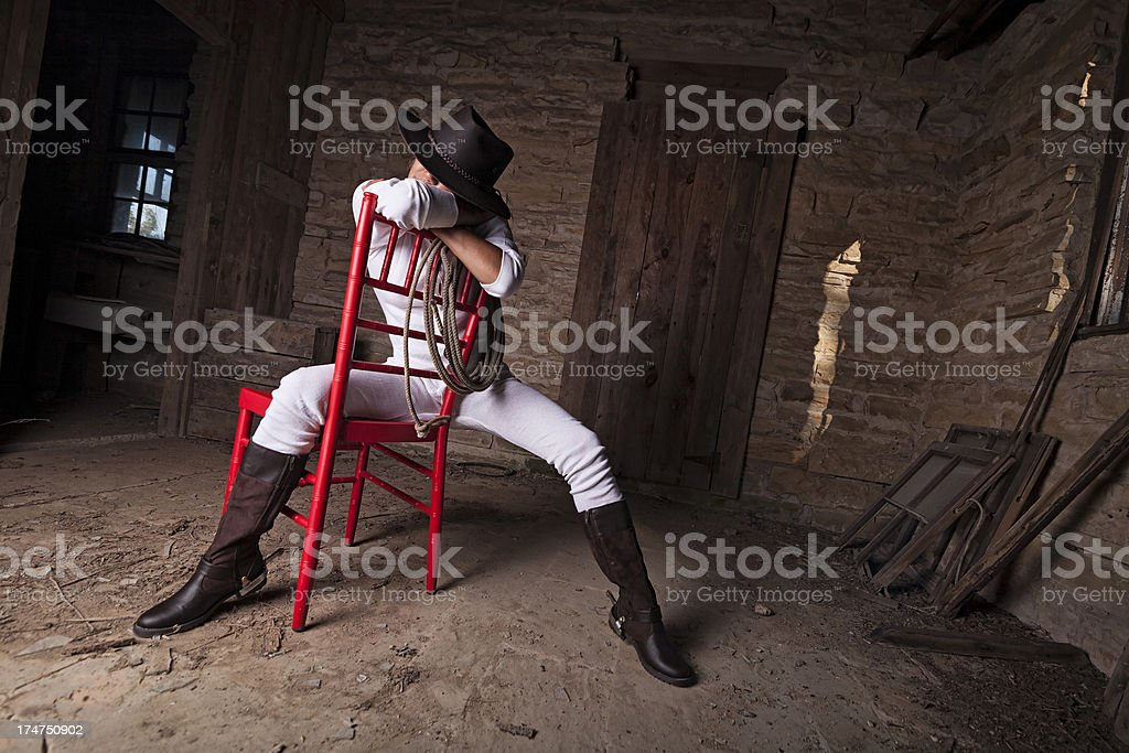 sexy west royalty-free stock photo