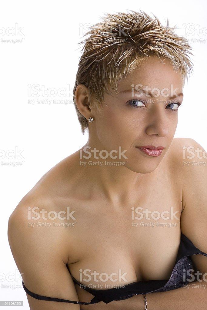 Sexy woman 1 royalty-free stock photo