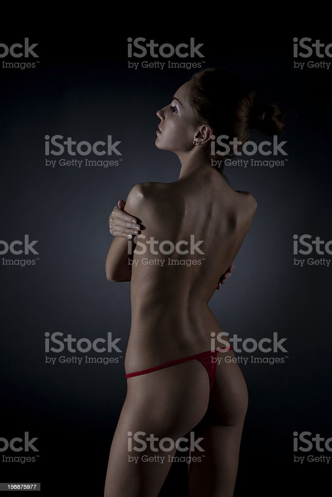 Sexy woman body royalty-free stock photo