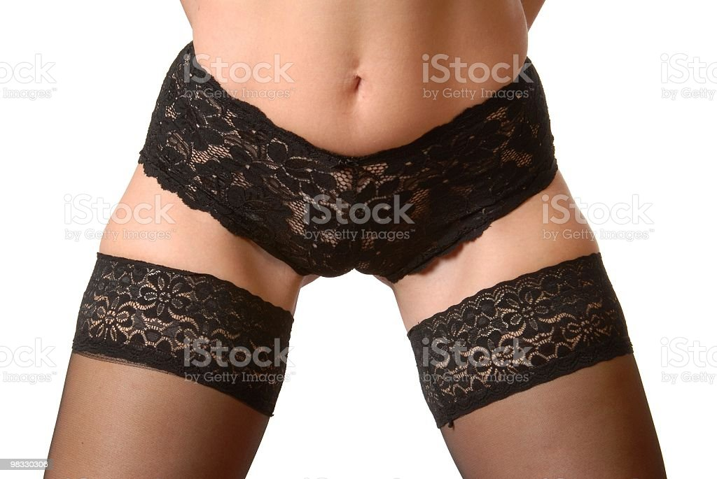 Sexy donna In Lingerie foto stock royalty-free