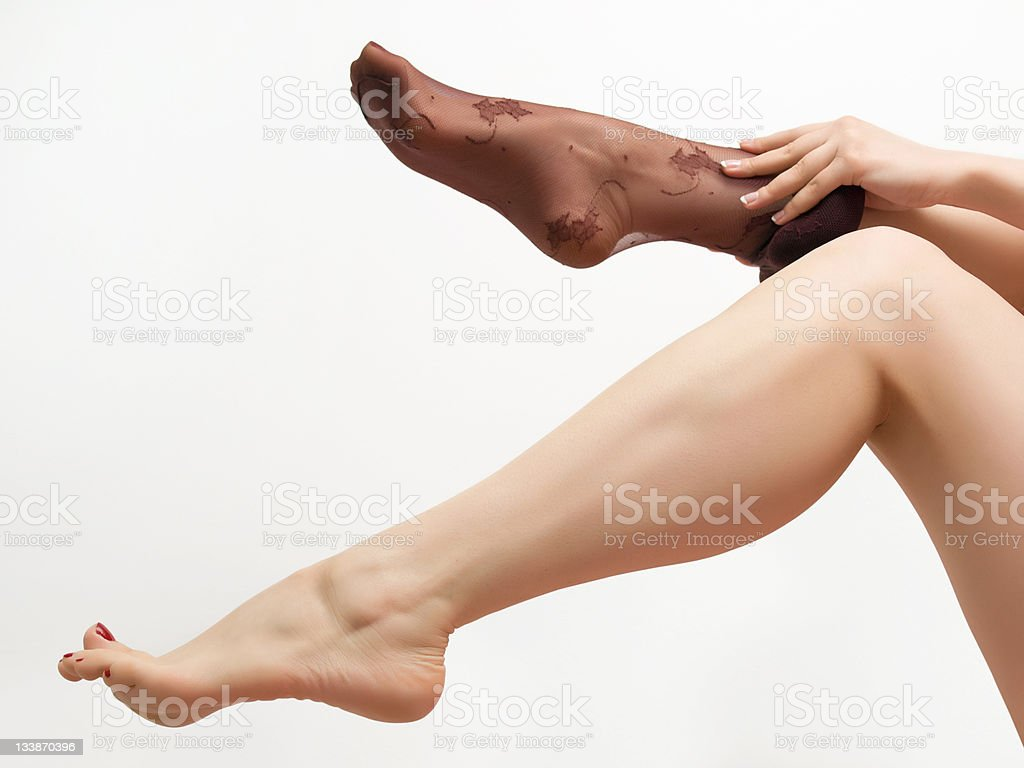 Sexy Woman Legs Royalty Free Stock Photo