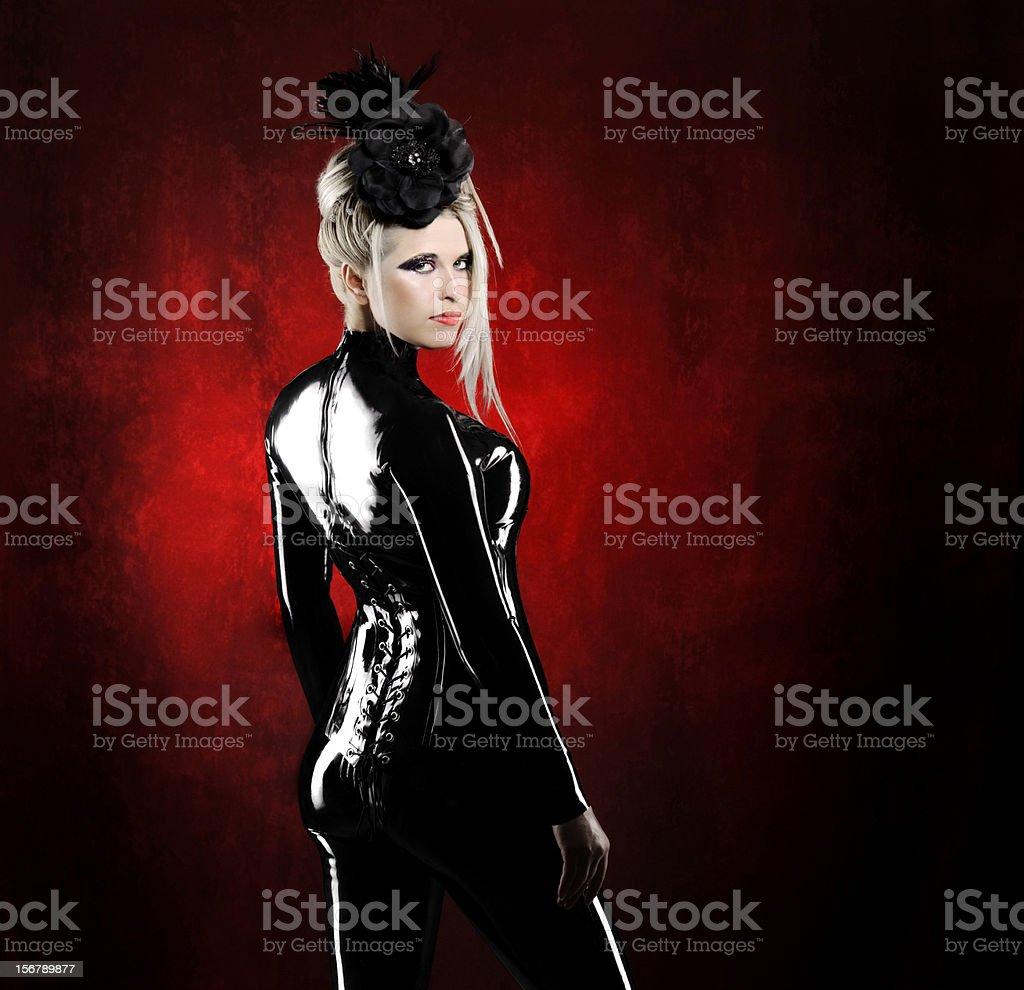 sexy woman royalty-free stock photo