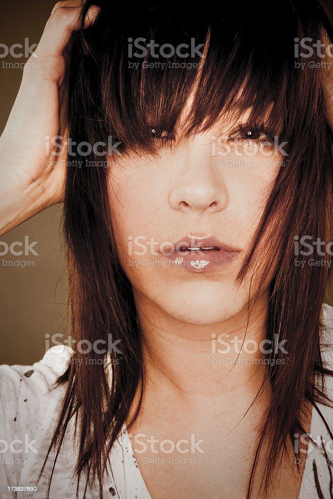 Sexy Woman Portrait royalty-free stock photo