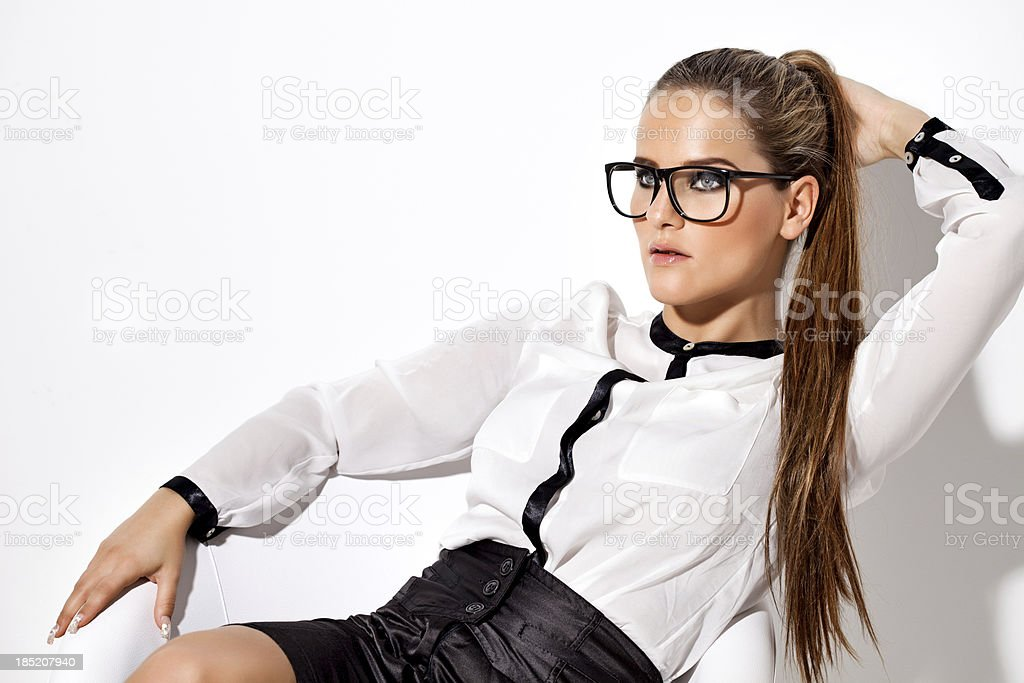 Sexy mit brille