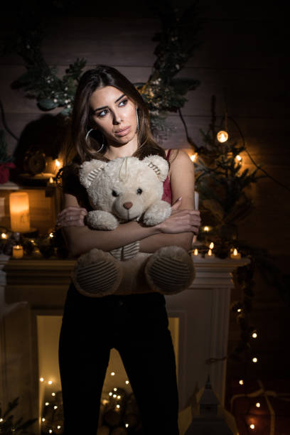 pictures of naked women with their teddy bear