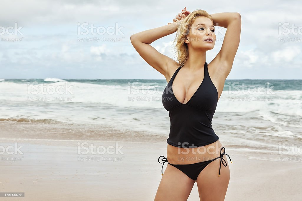 Adulte, Bikini, Cheveux, Cheveux blonds, Coiffure