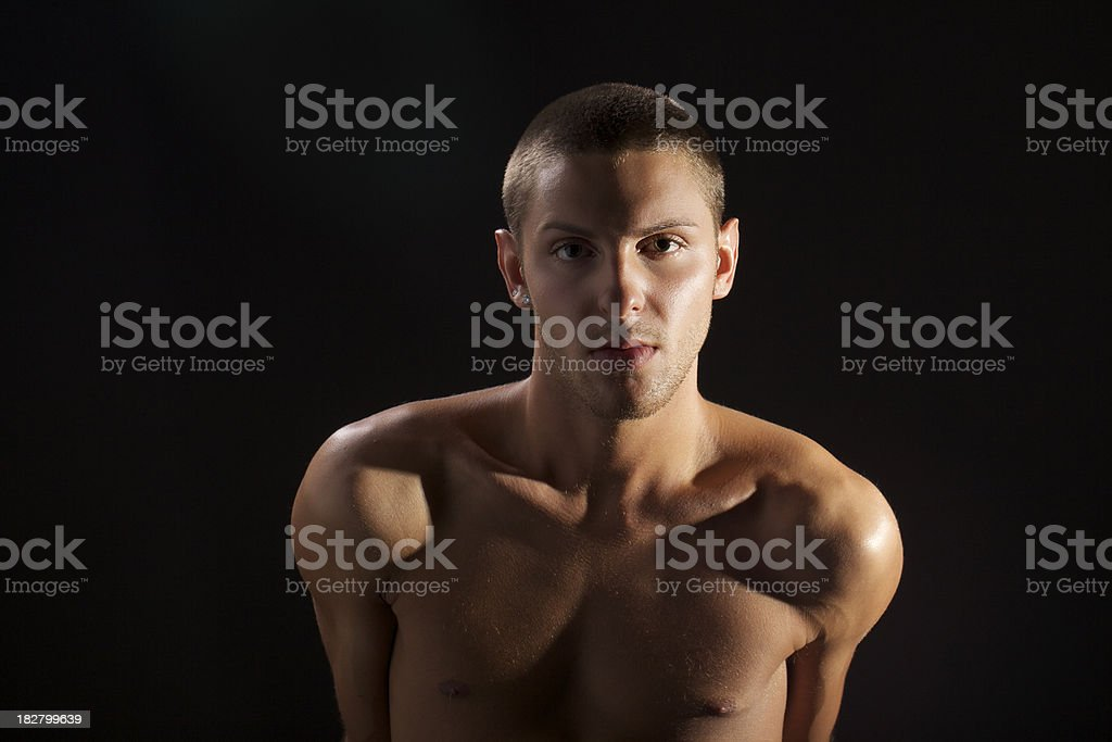 Sexy Young Gay Man - Stock image .