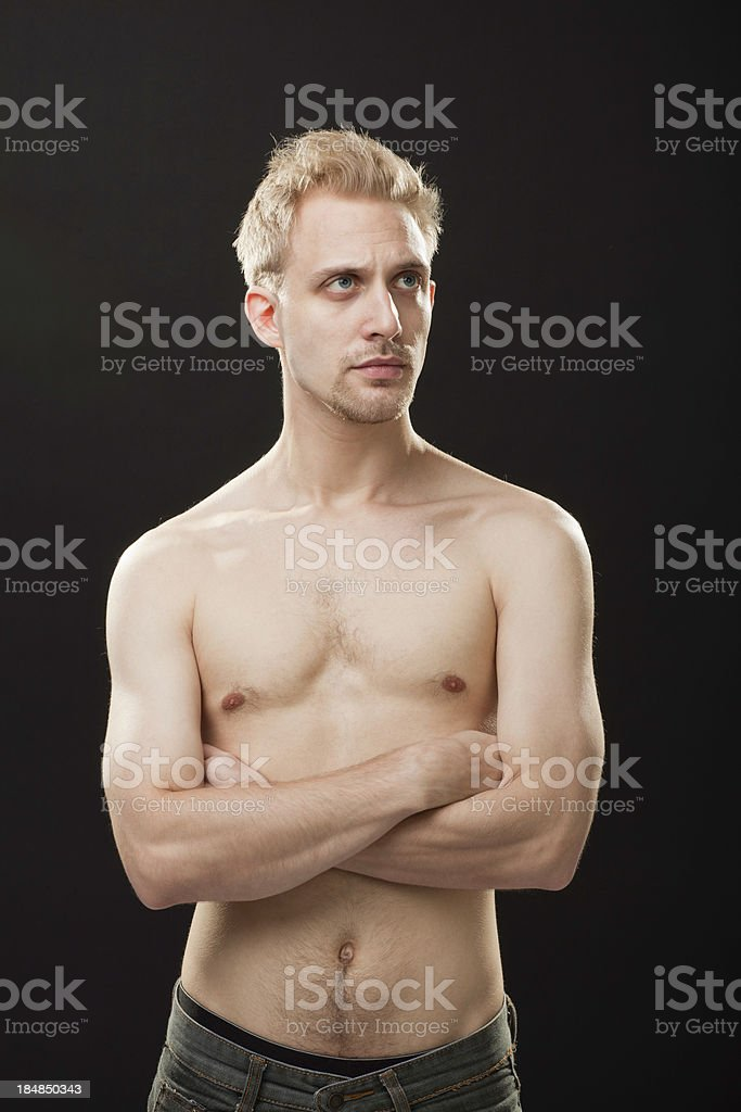 Sexy Young Man royalty-free stock photo