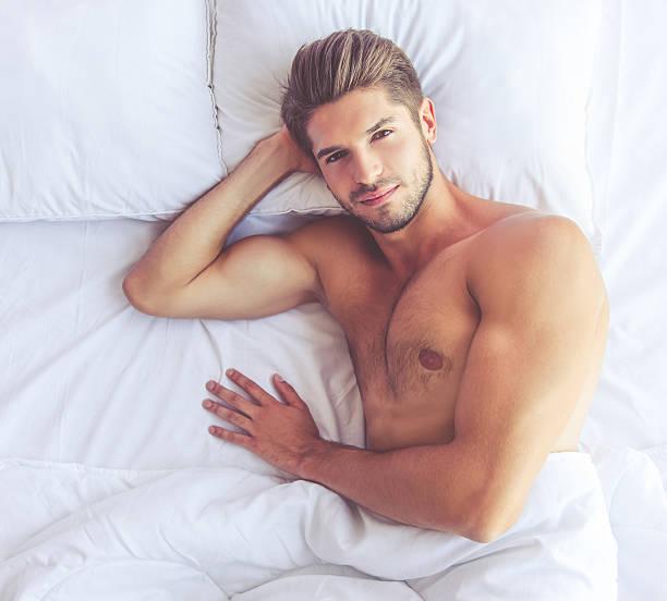 Sexy young man stok fotoğrafı