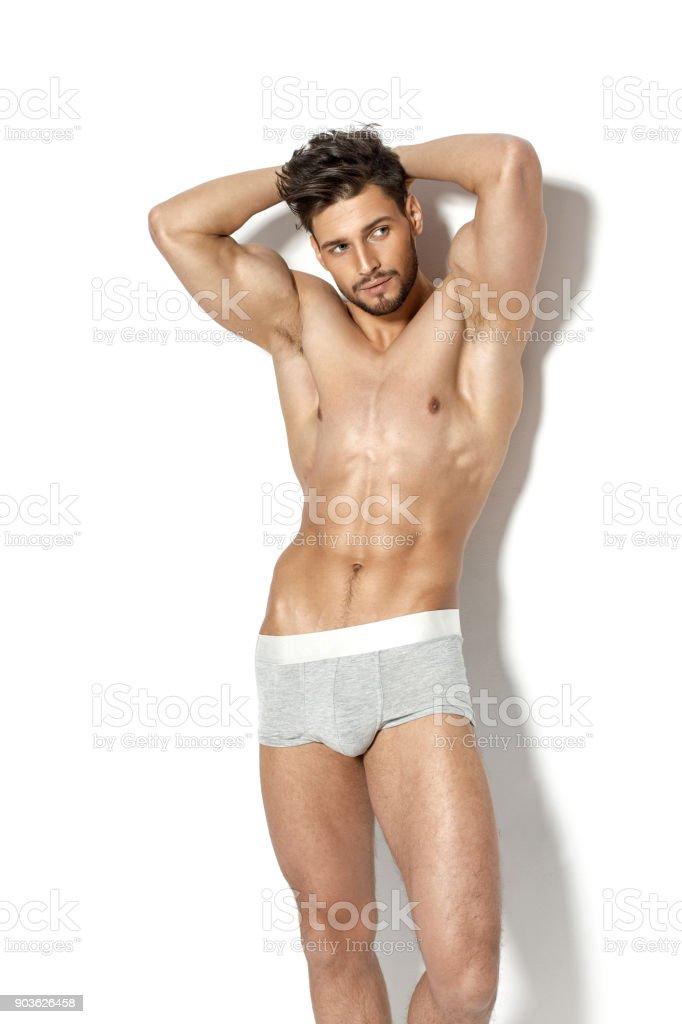 Black model naked men