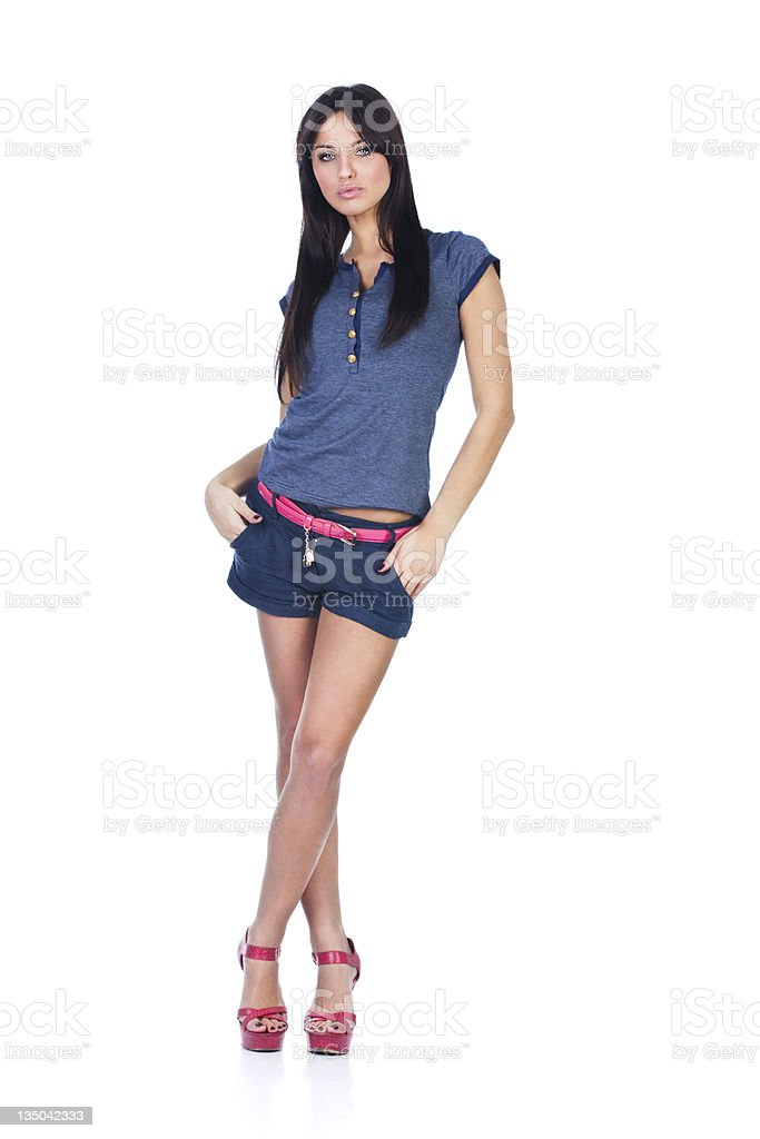 sexy young woman royalty-free stock photo