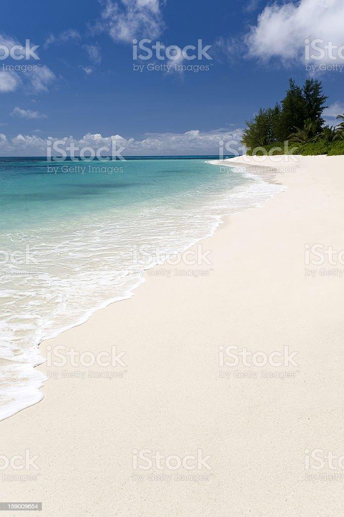 Seychelle atol stock photo