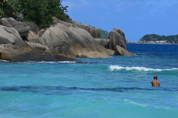 Seychellen und Schnorcheln – Foto