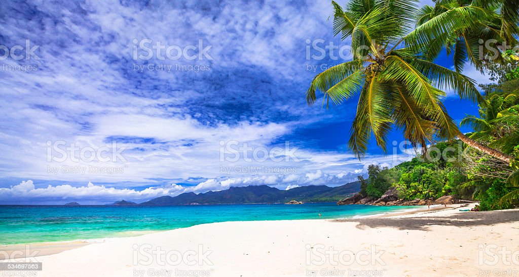 Seychelles island. stock photo