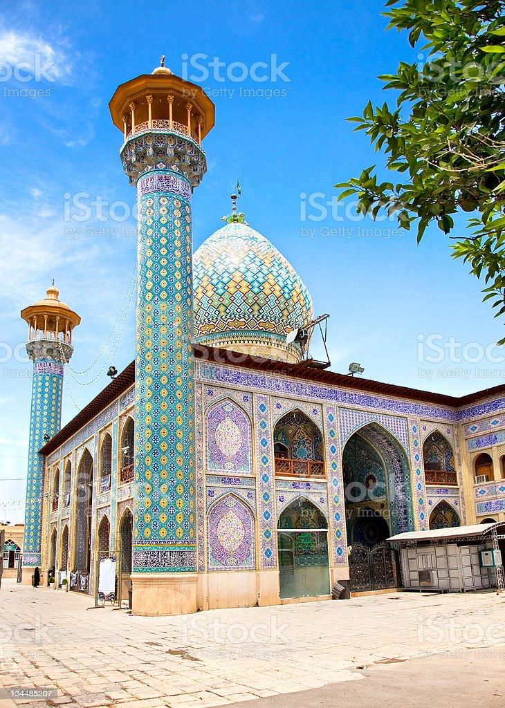 Seyed Alaedin Hossein Shrine, Shiraz stock photo