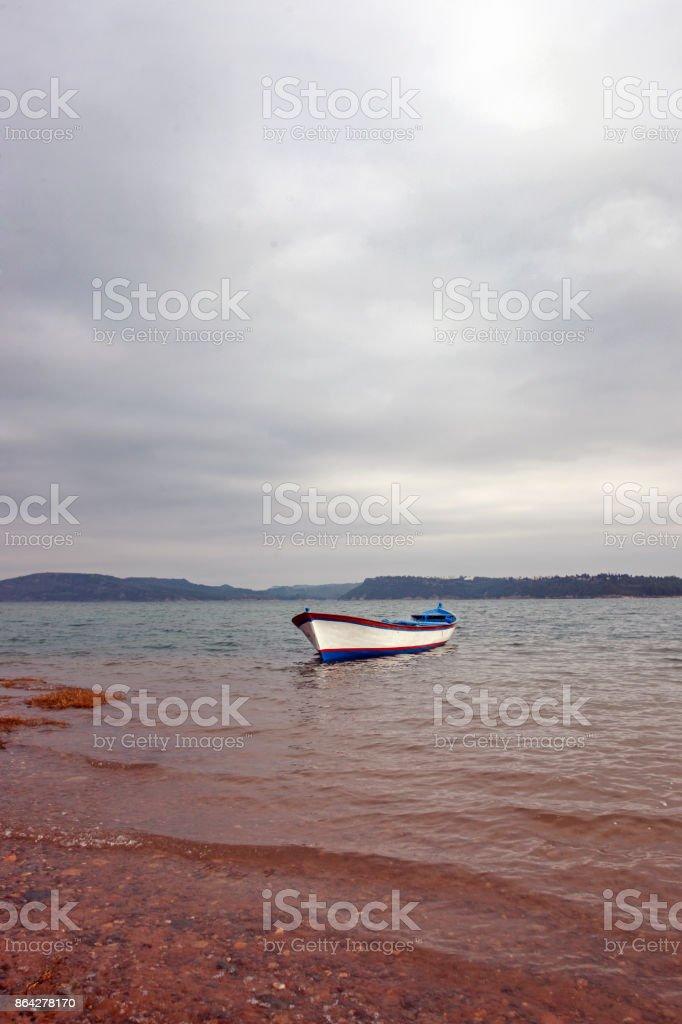 Seyhan Lake -Adana,Turkey royalty-free stock photo