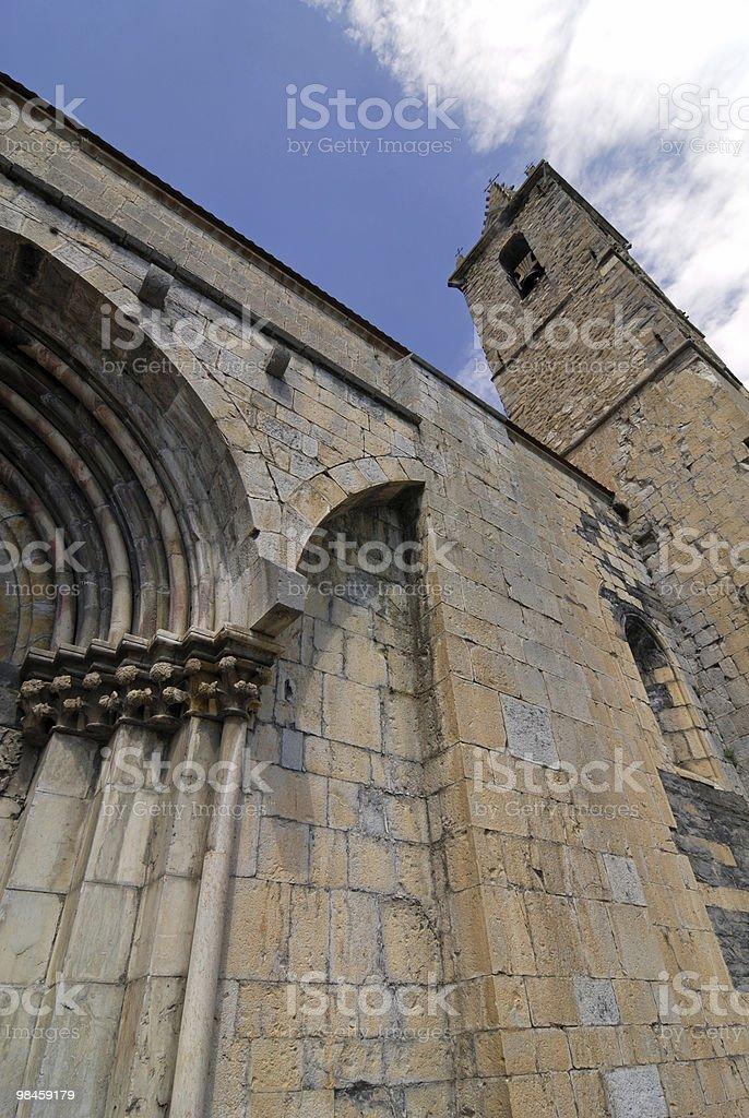 Seyne (Alpi francesi)-Chiesa foto stock royalty-free