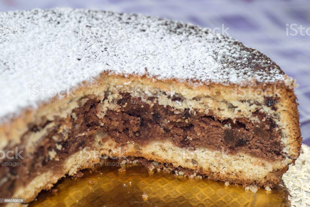 Sfoglio. cake typical of Polizzi Generosa - foto stock