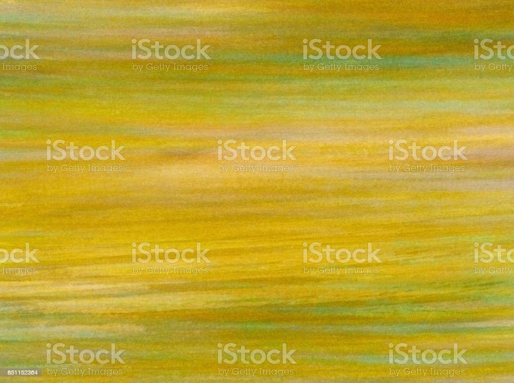 Sfondo con colori pastello e acquerello nei toni del giallo e verde stock photo