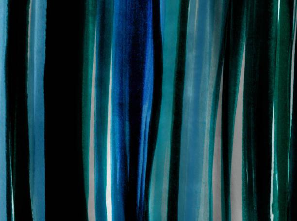 Sfondo Con Pennellate Di Colore Verticali Nei Toni Del Blu E Verde