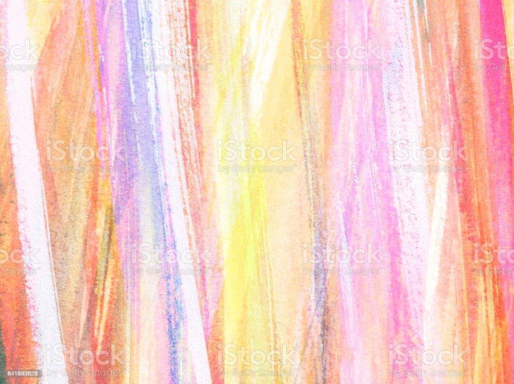Sfondo Con Pennellate Verticali Di Colore Nei Toni Del Bianco Rosa E