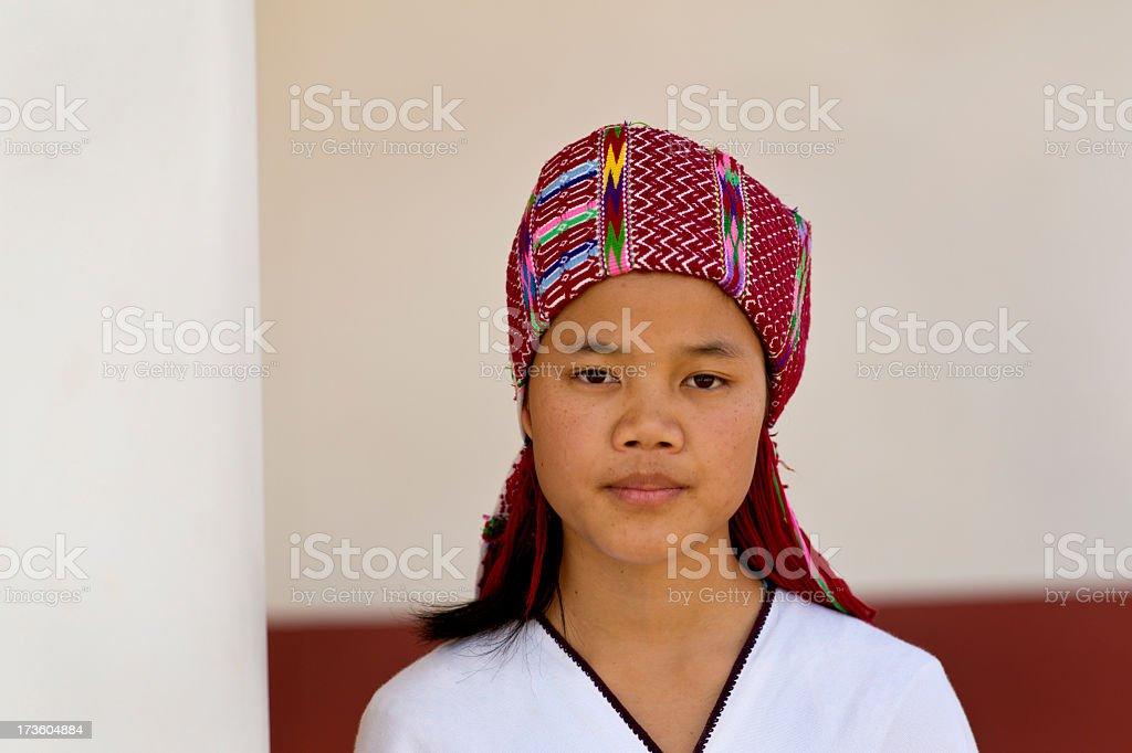 Sgaw Karen Teenager royalty-free stock photo