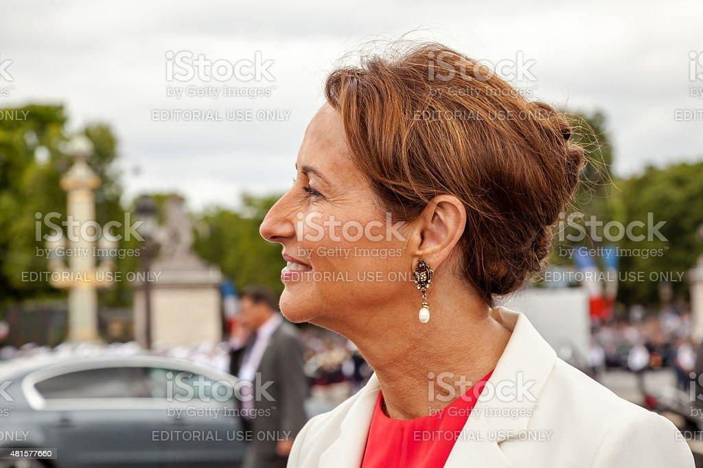 Ségolène Royal stock photo