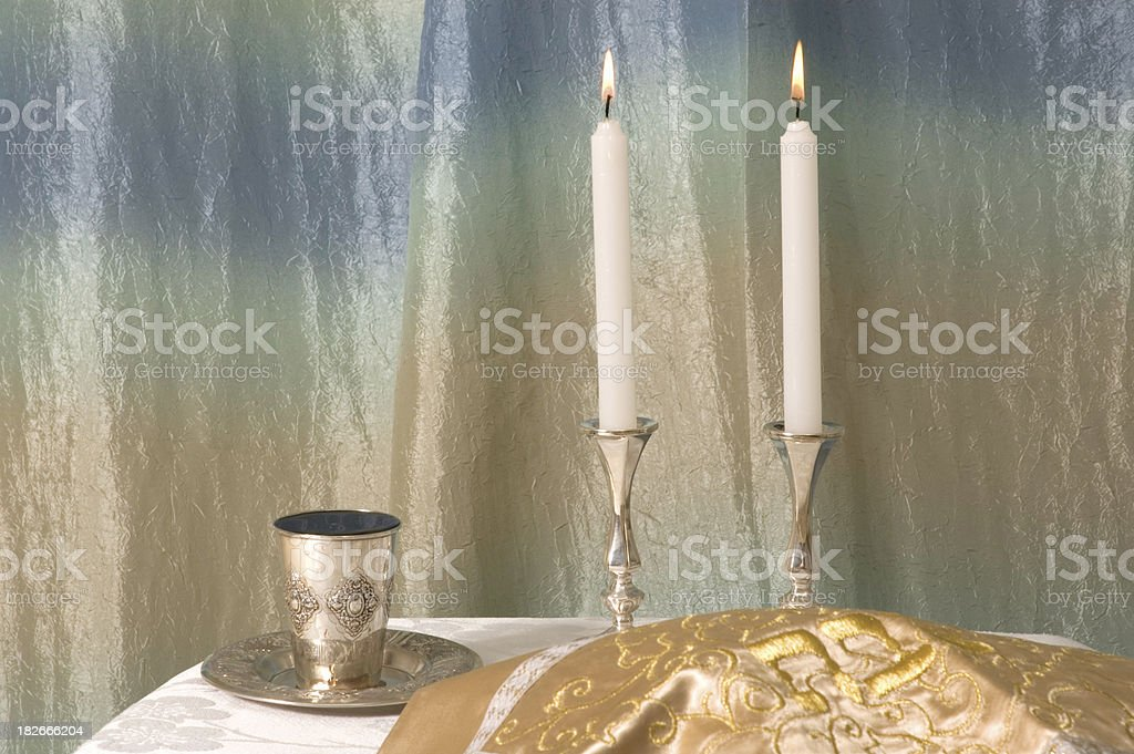 shabbos scene 2 stock photo