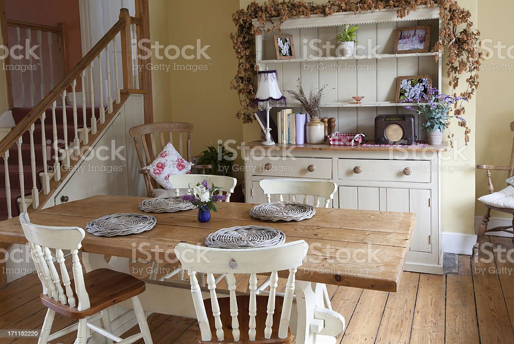 shabby chic kitchen stock photo istock. Black Bedroom Furniture Sets. Home Design Ideas