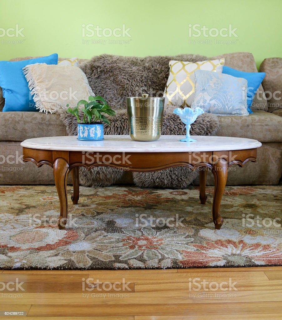 Shabby Chic Living Room Stockfoto und mehr Bilder von ...