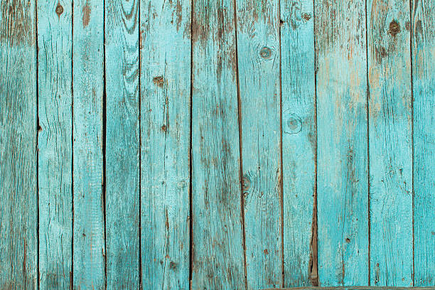 shabby wood background - turquoise colored stock photos and pictures