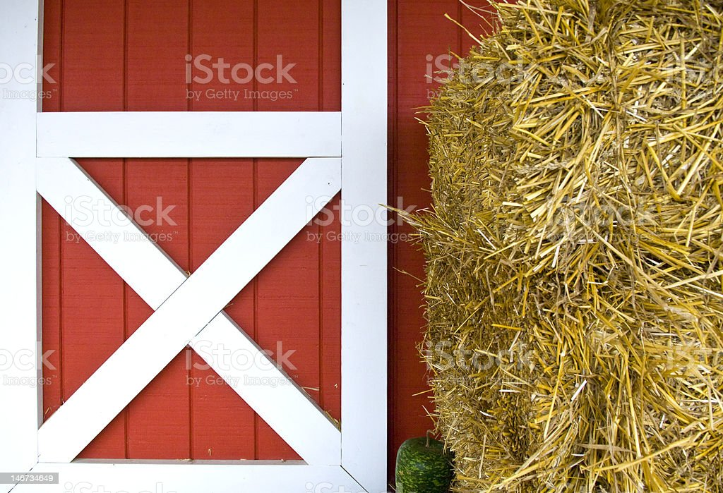 shack entrance stock photo