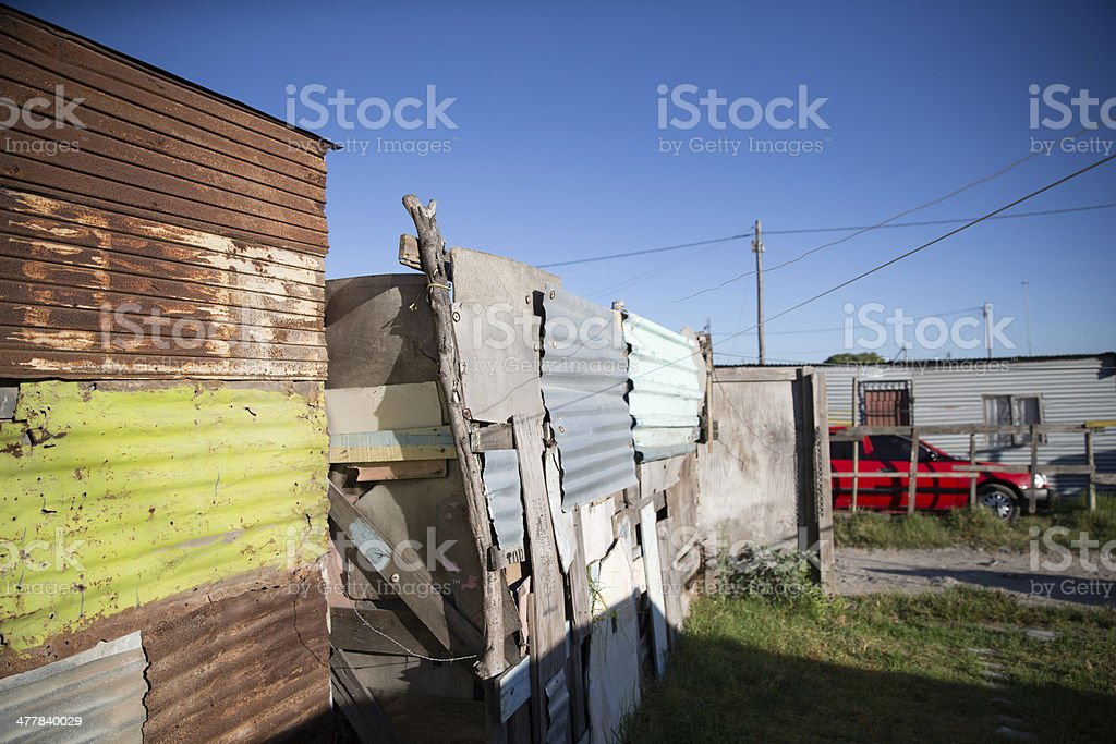 Shacks stock photo
