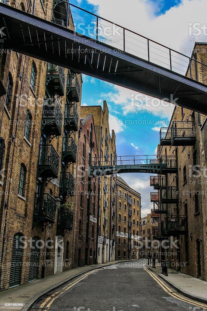 Shad Thames, London stock photo