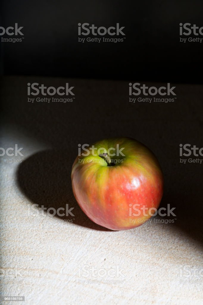Shadow Apple Light royalty-free stock photo