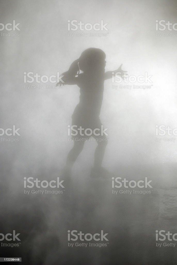 Shadow Girl royalty-free stock photo