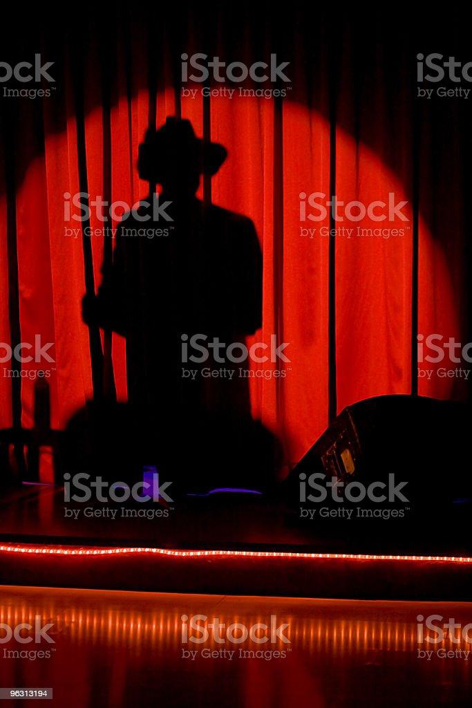 Shadow man (XL) royalty-free stock photo