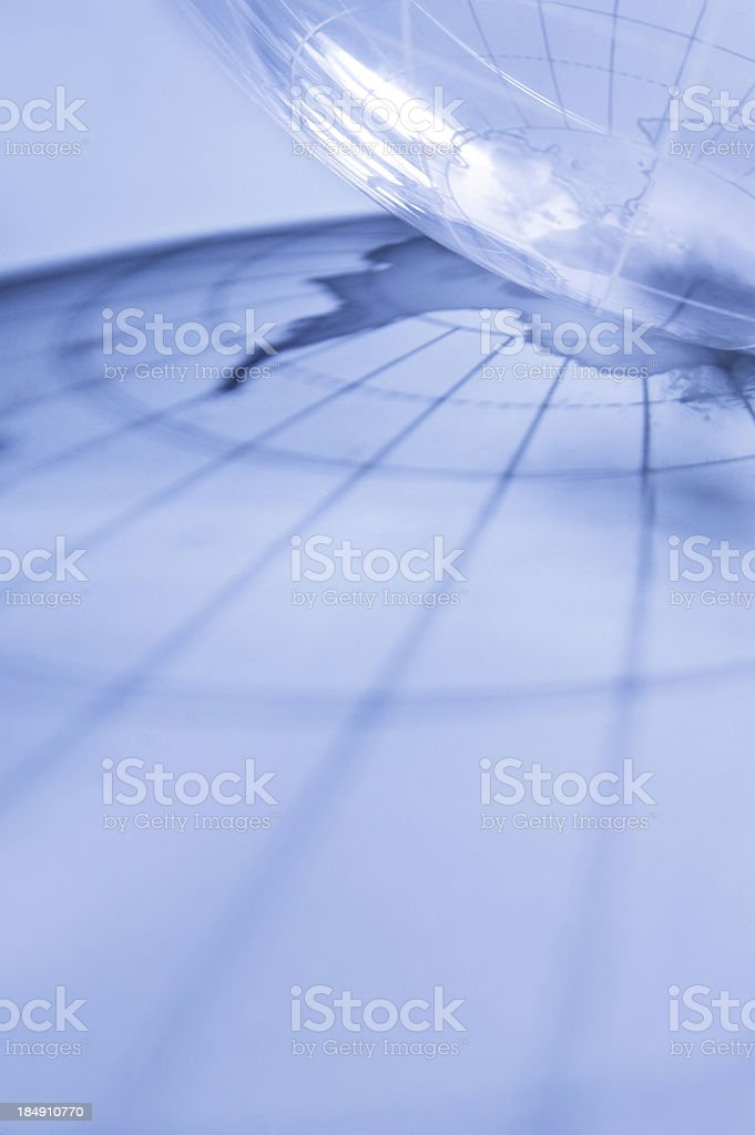 Shadow of Our Globe royalty-free stock photo