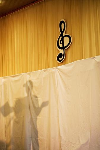 무대에 그림자 Performing Arts Event에 대한 스톡 사진 및 기타 이미지
