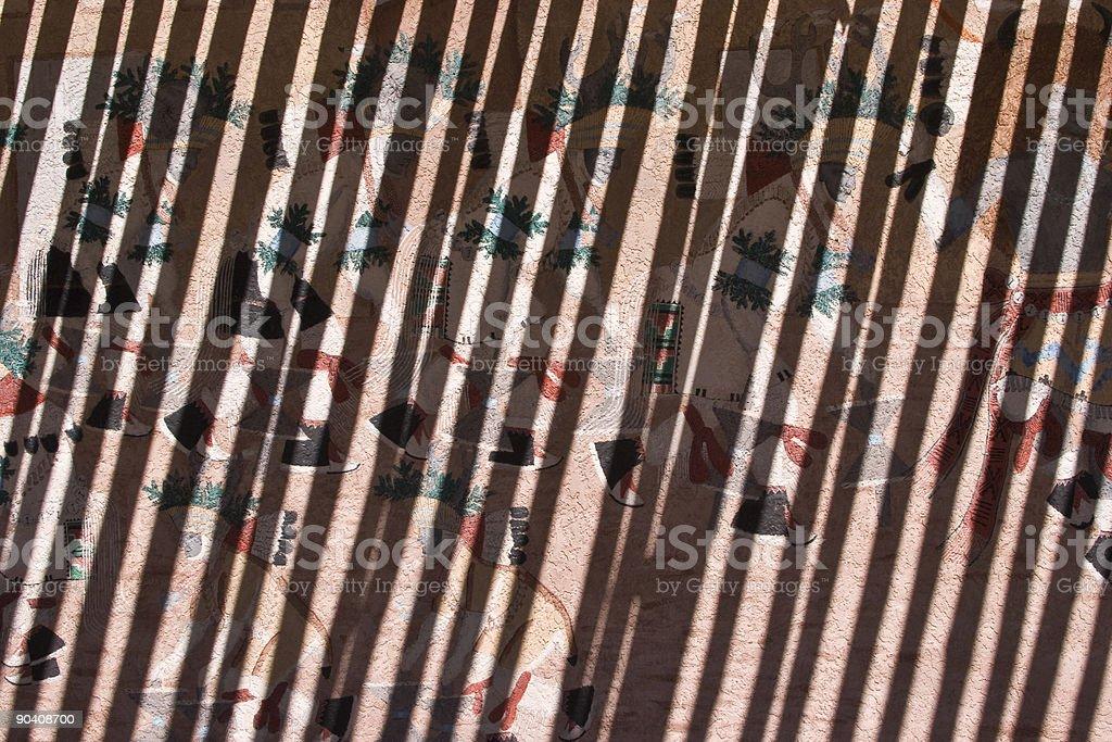 Shadow Muster Für Gestaltung Von Wänden, Diagonalen Linien, Abstrakt  Hintergrund Lizenzfreies Stock Foto