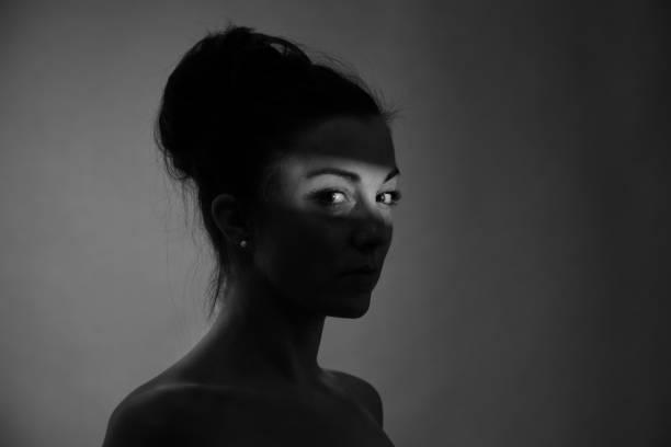 Shadow Bild von Frauen – Foto