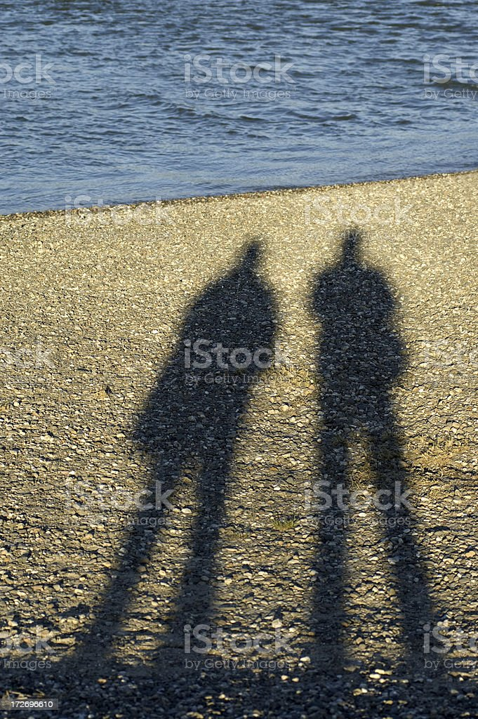 Shadow series royalty-free stock photo