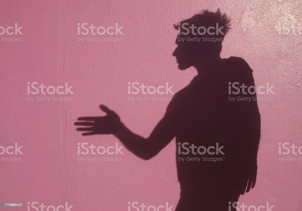 Shadow Shake royalty-free stock photo
