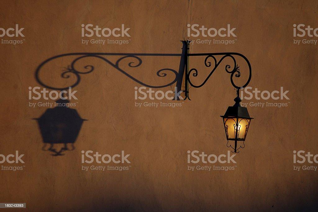 Shadow vs light stock photo