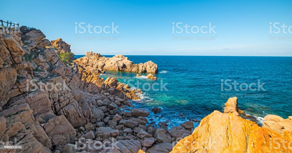Shadows by the sea royalty-free stock photo